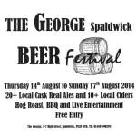 Spaldwick Beer Festival at The George