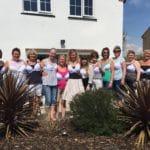 Please Support Our Nine Spaldwick Ladies in the Moonwalk
