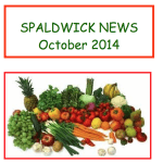 Spaldwick News October 2014 edition