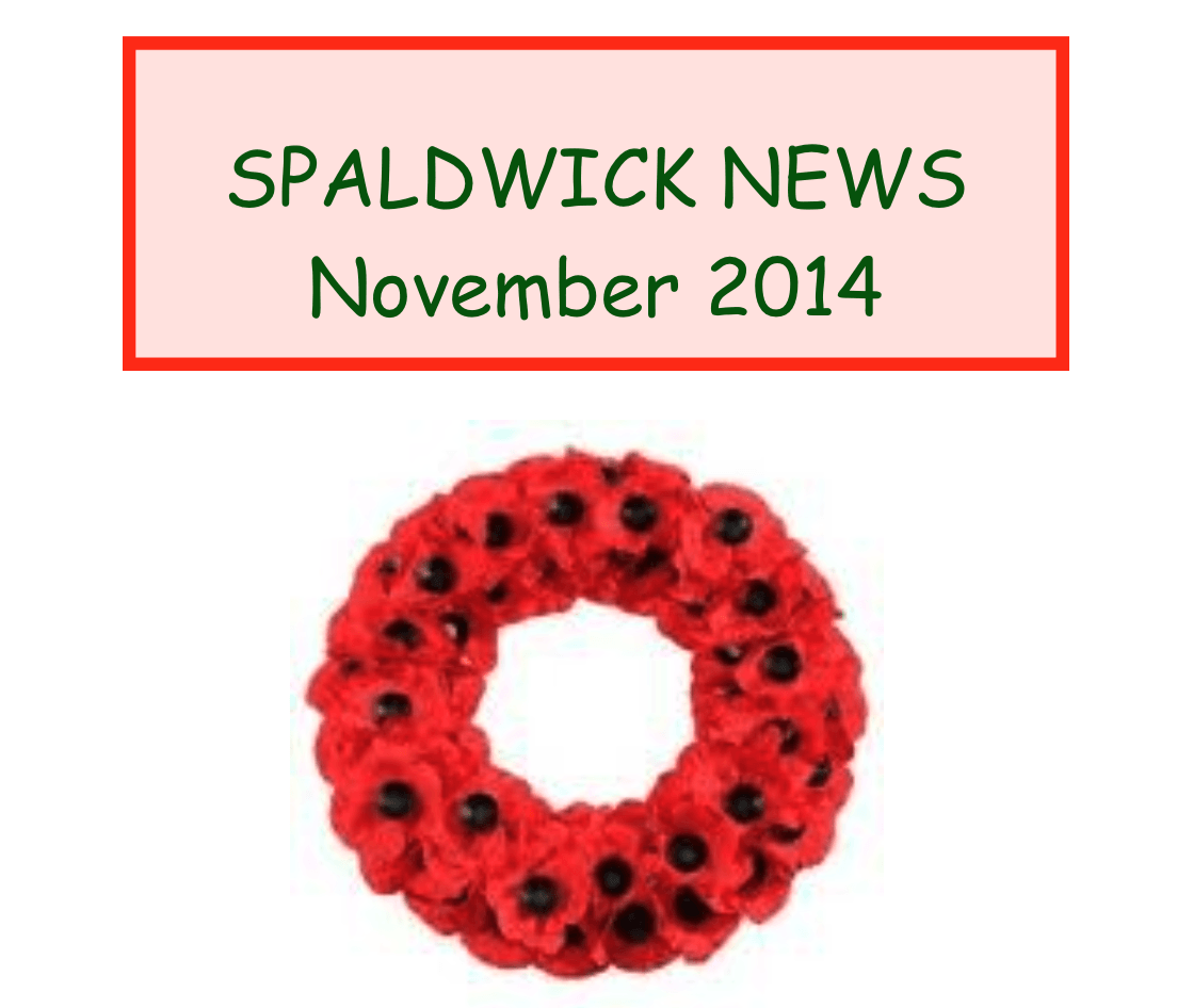 Spaldwick News for November 2014