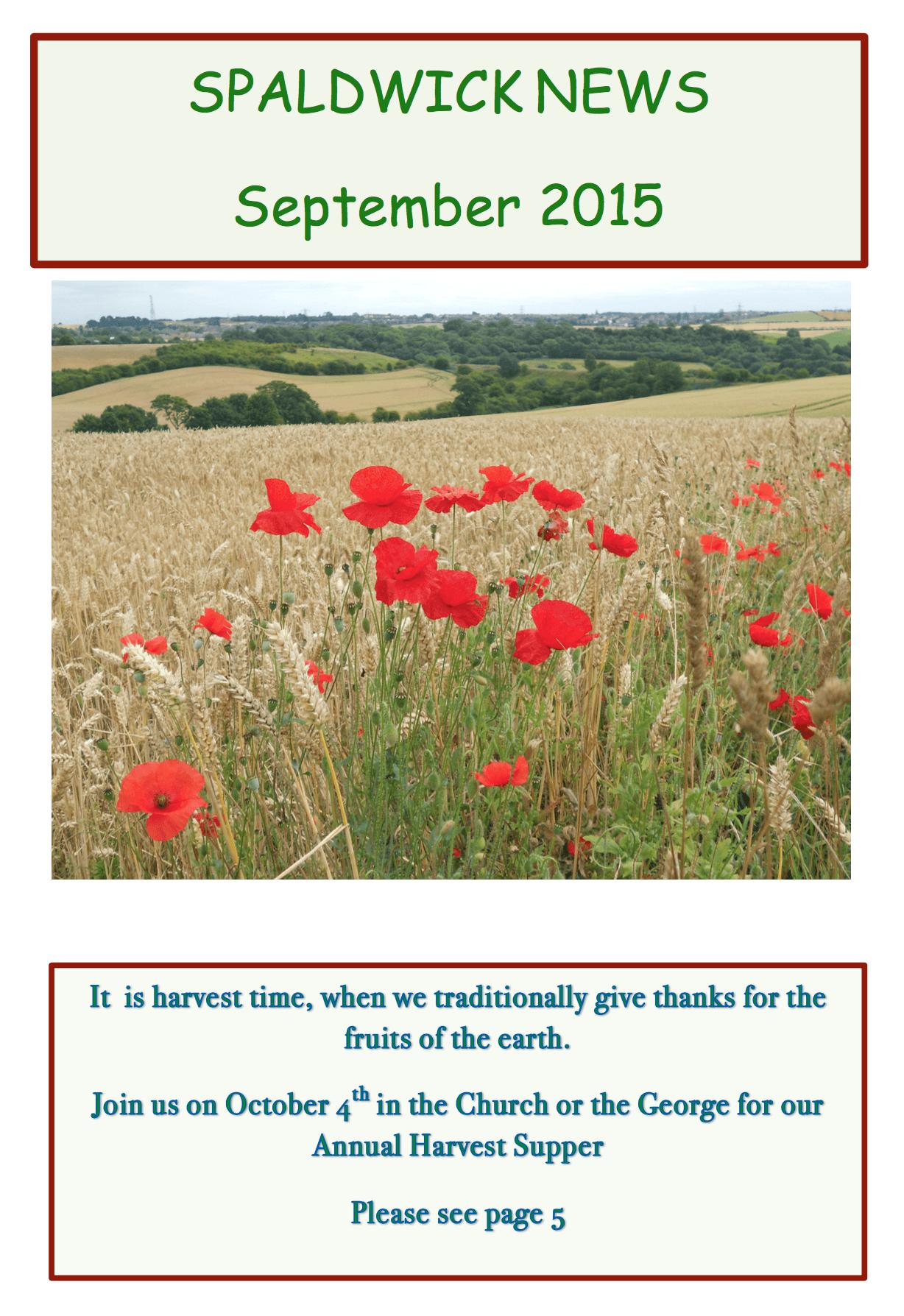 Spaldwick News for September