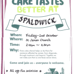 Cakes taste better in Spaldwick