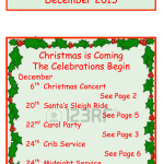 Spaldwick News for December 2015