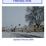 Spaldwick News Magazine For February 2016