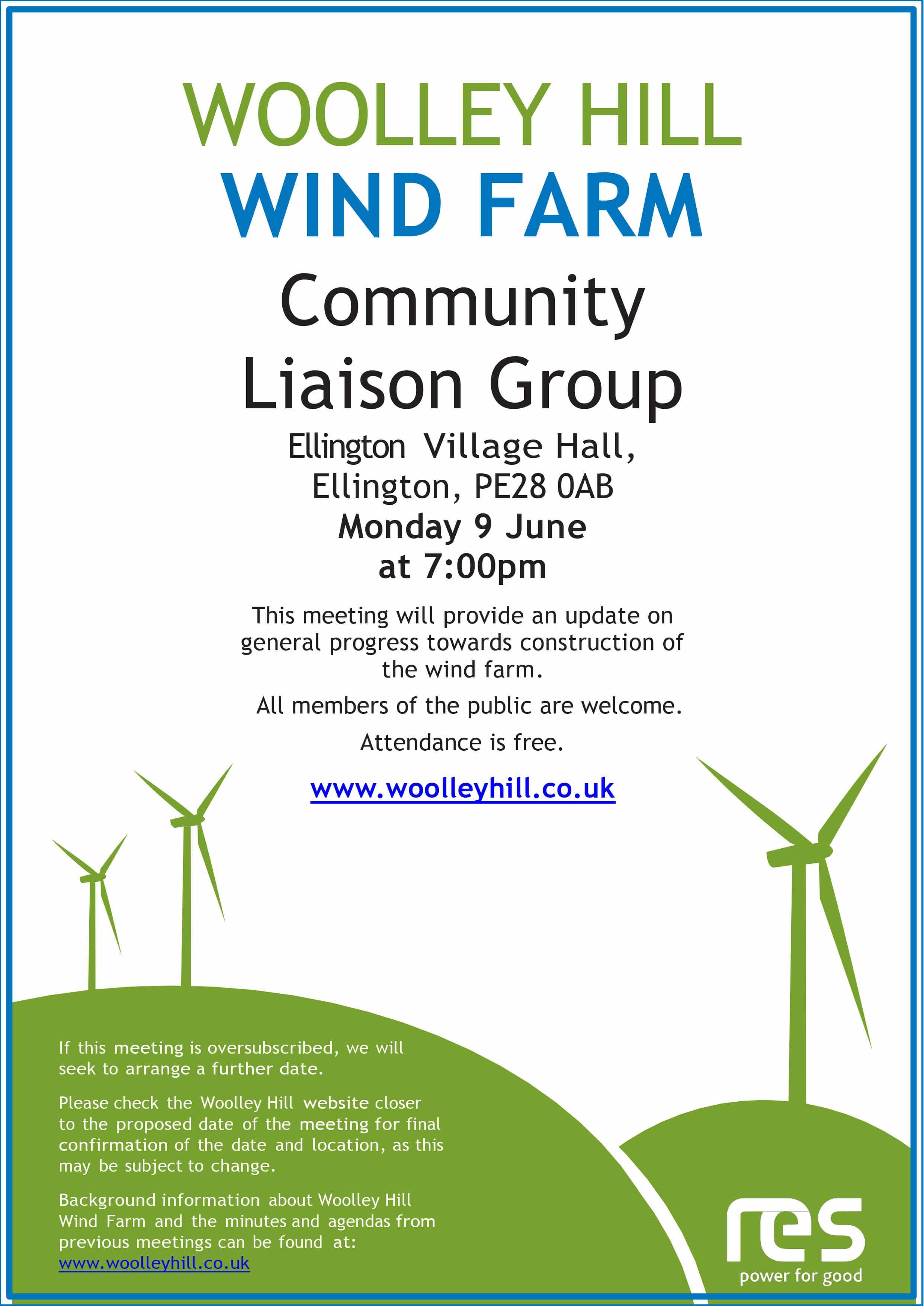 Woolley Wind Farm meeting