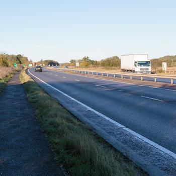 A14 near Spaldwick