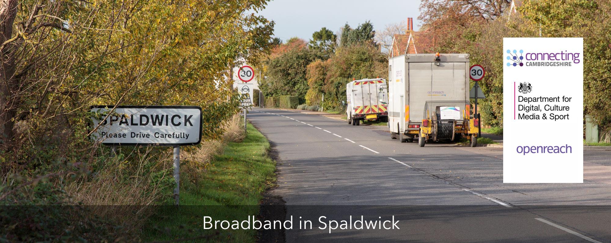 Broadband in Spaldwick