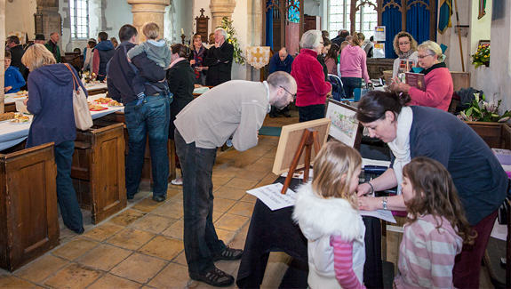 Easter Fayre at Spaldwick Church