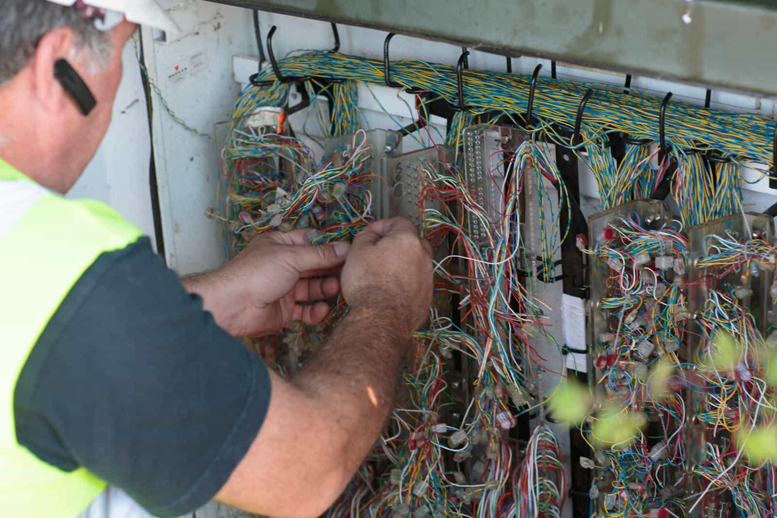 First superfast broadband connection in Spaldwick
