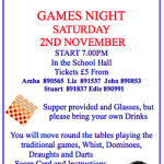 Games night for Spaldwick Church