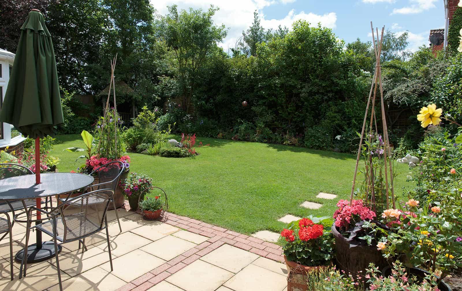 Spaldwick garden