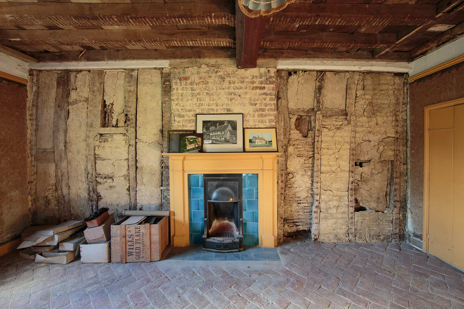 Inside of Manor Farmhouse in Spaldwick