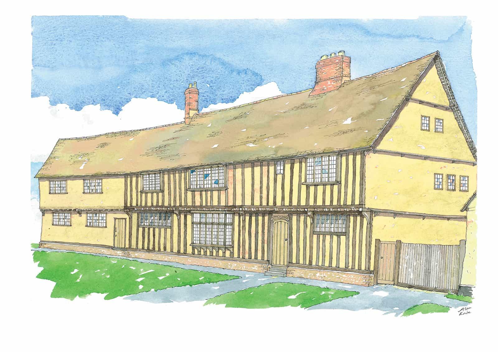 Spaldwick Manor Farmhouse