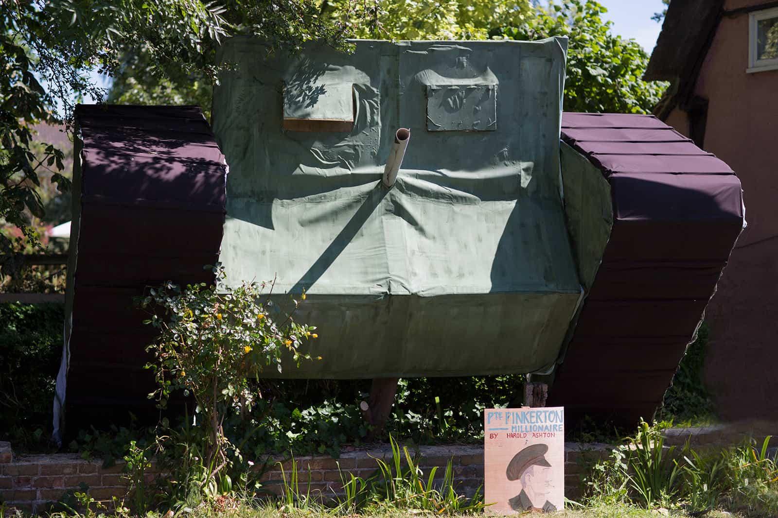 Tank in Spaldwick