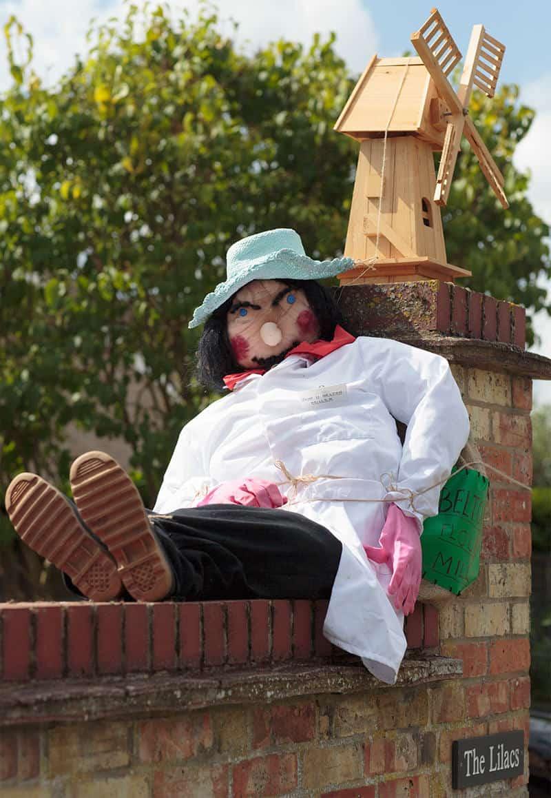 John Belton scarecrow