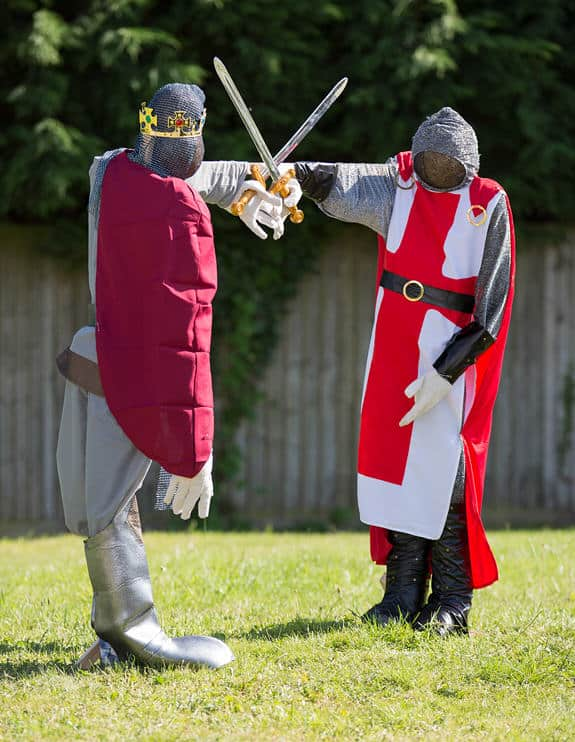 jousting knights in spaldwick