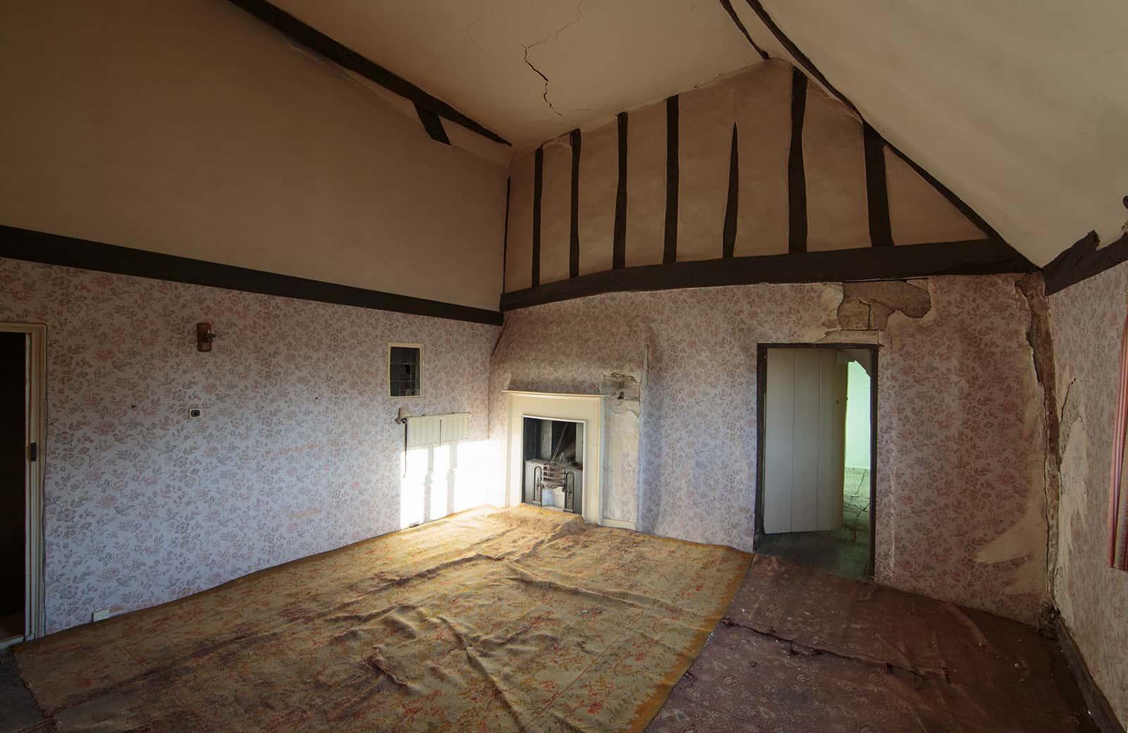 Bedroom in Manor Farm in Spaldwick