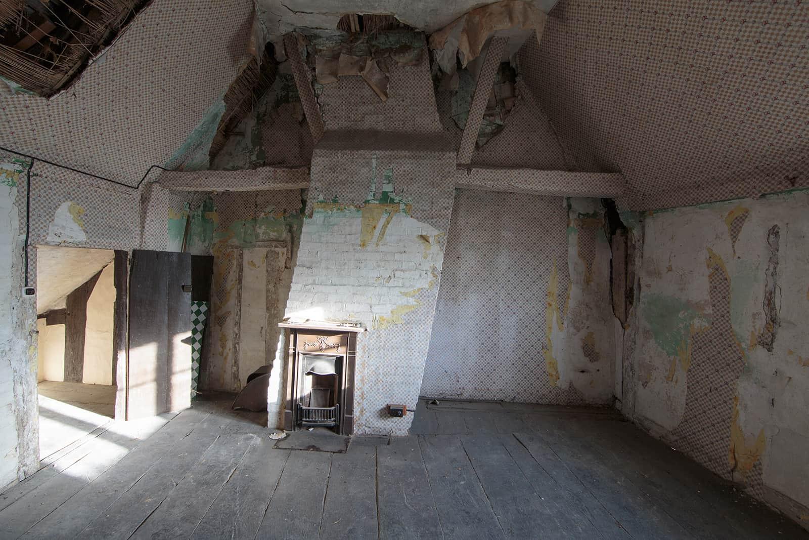 Bedroom in Manor Farm Spaldwick