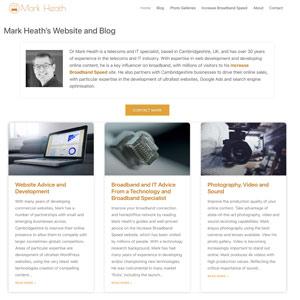 Mark Heath website