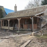 Restoration of Manor Farm in Spaldwick Continues