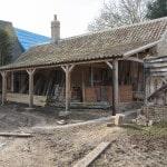 Restoration of Manor Farm in Spaldwick Continues