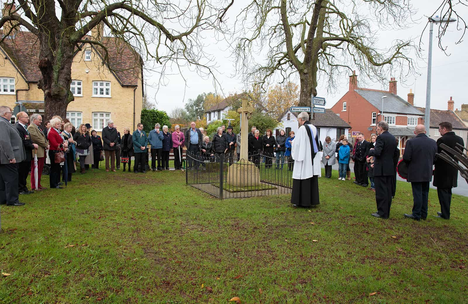 Remembrance at Spaldwick