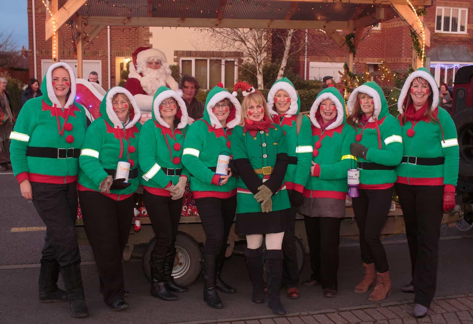 Santa comes to Spaldwick
