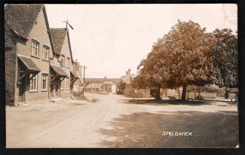 Old photo of Spaldwick