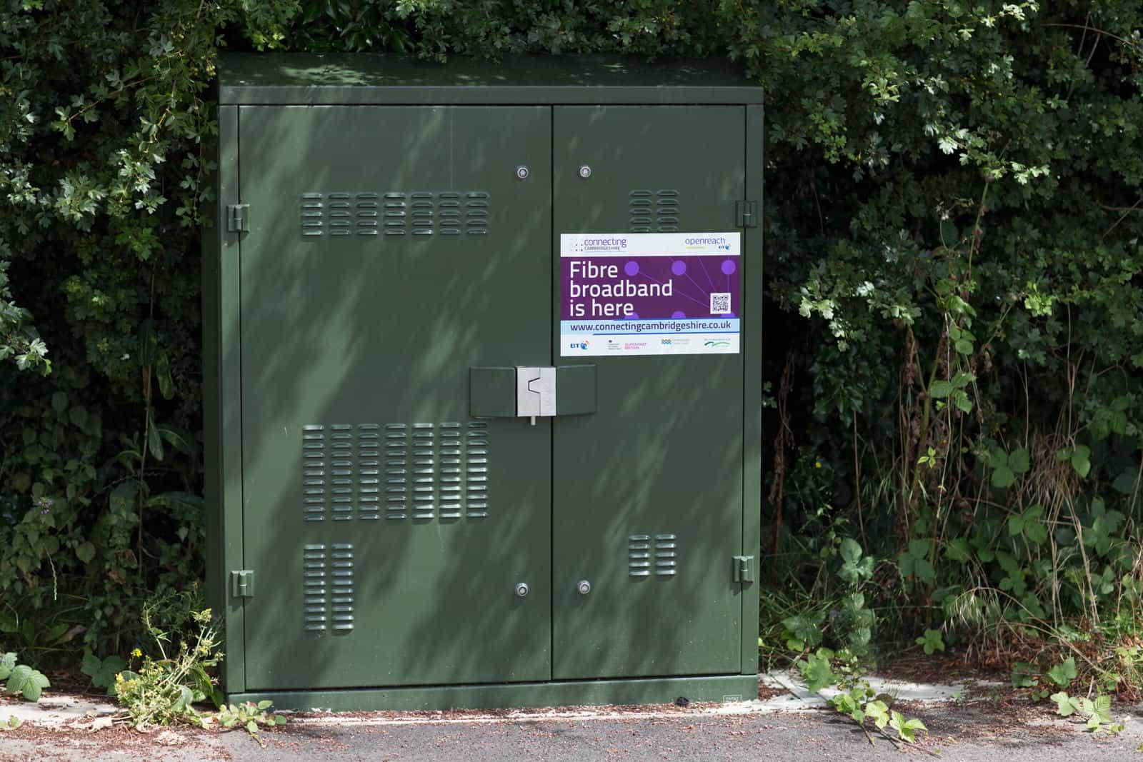 Spaldwick fibre cabinet