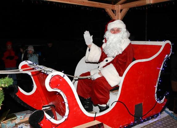 Christmas Carol parade