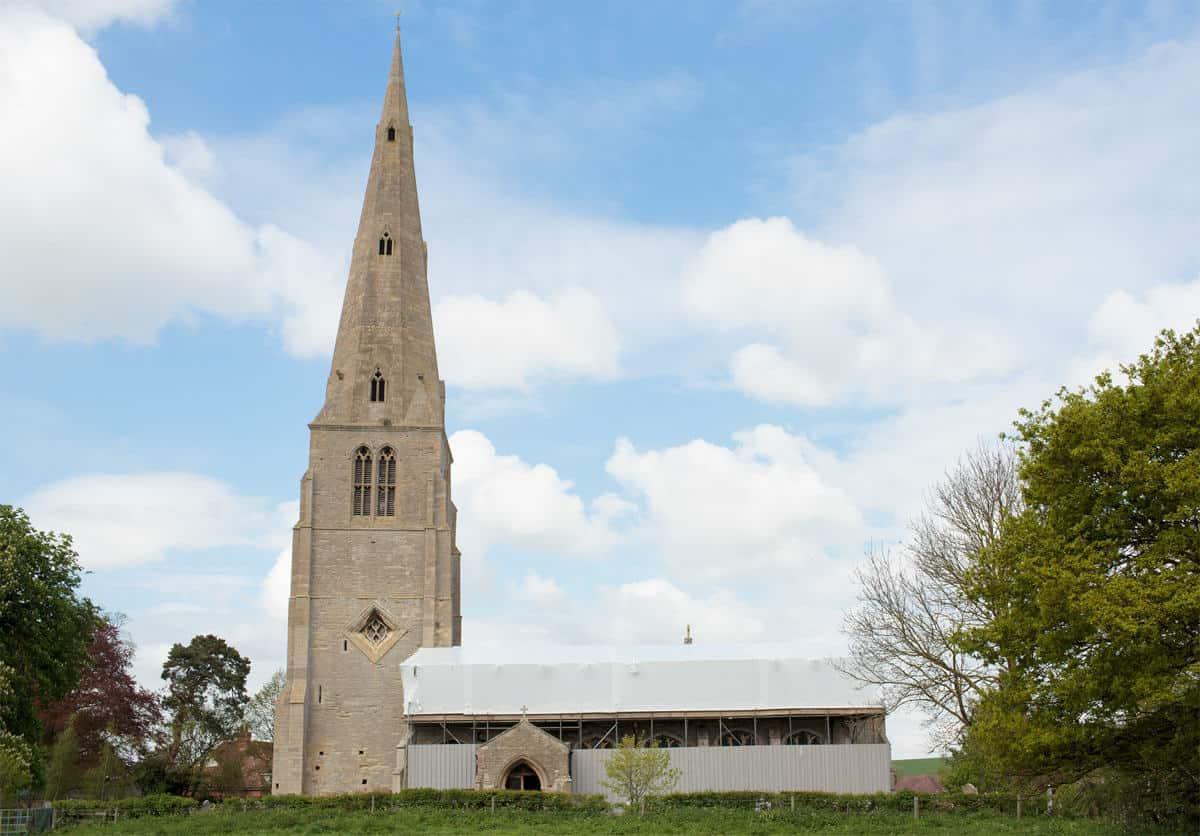 Repairs to Spaldwick Church