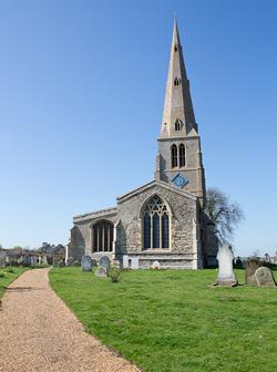 Photo of Spaldwick Church