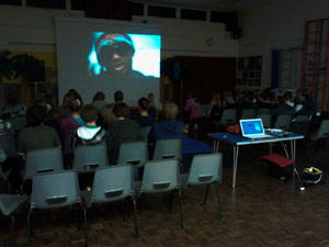 Photo of Spaldwick Escape movie night