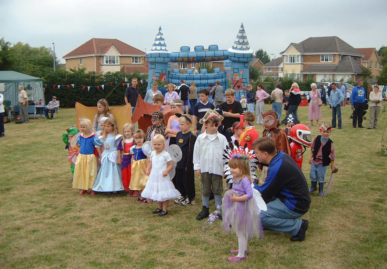 Spaldwick Fete in 2003