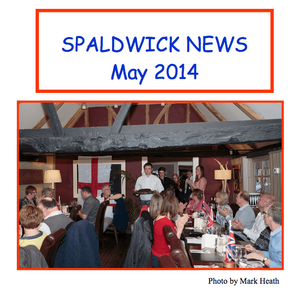 Spaldwick News for May 2014