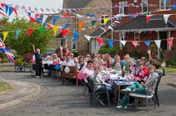 Photo of Spaldwick Royal Wedding celebration