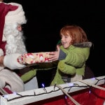 Father Christmas Comes to Spaldwick on Sunday