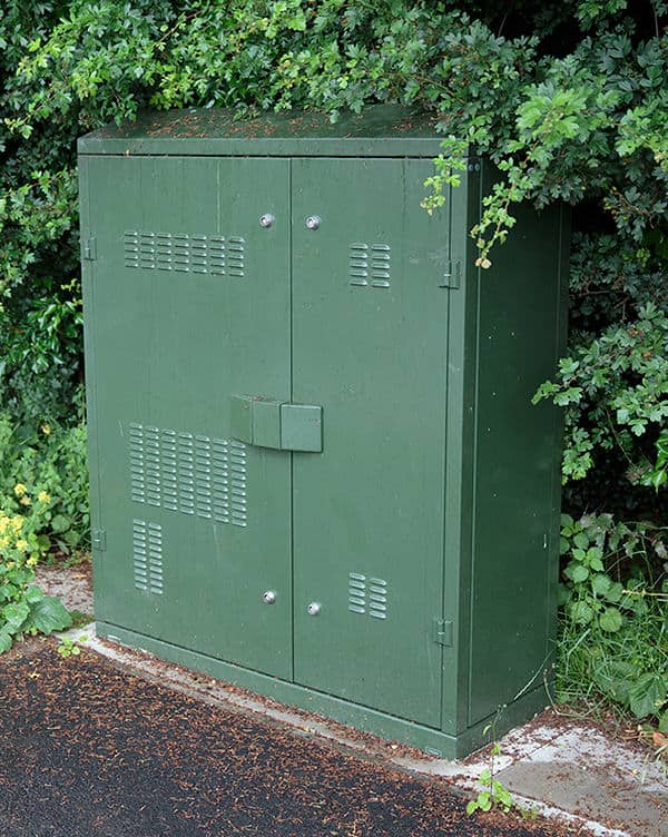 New fibre cabinet in Spaldwick
