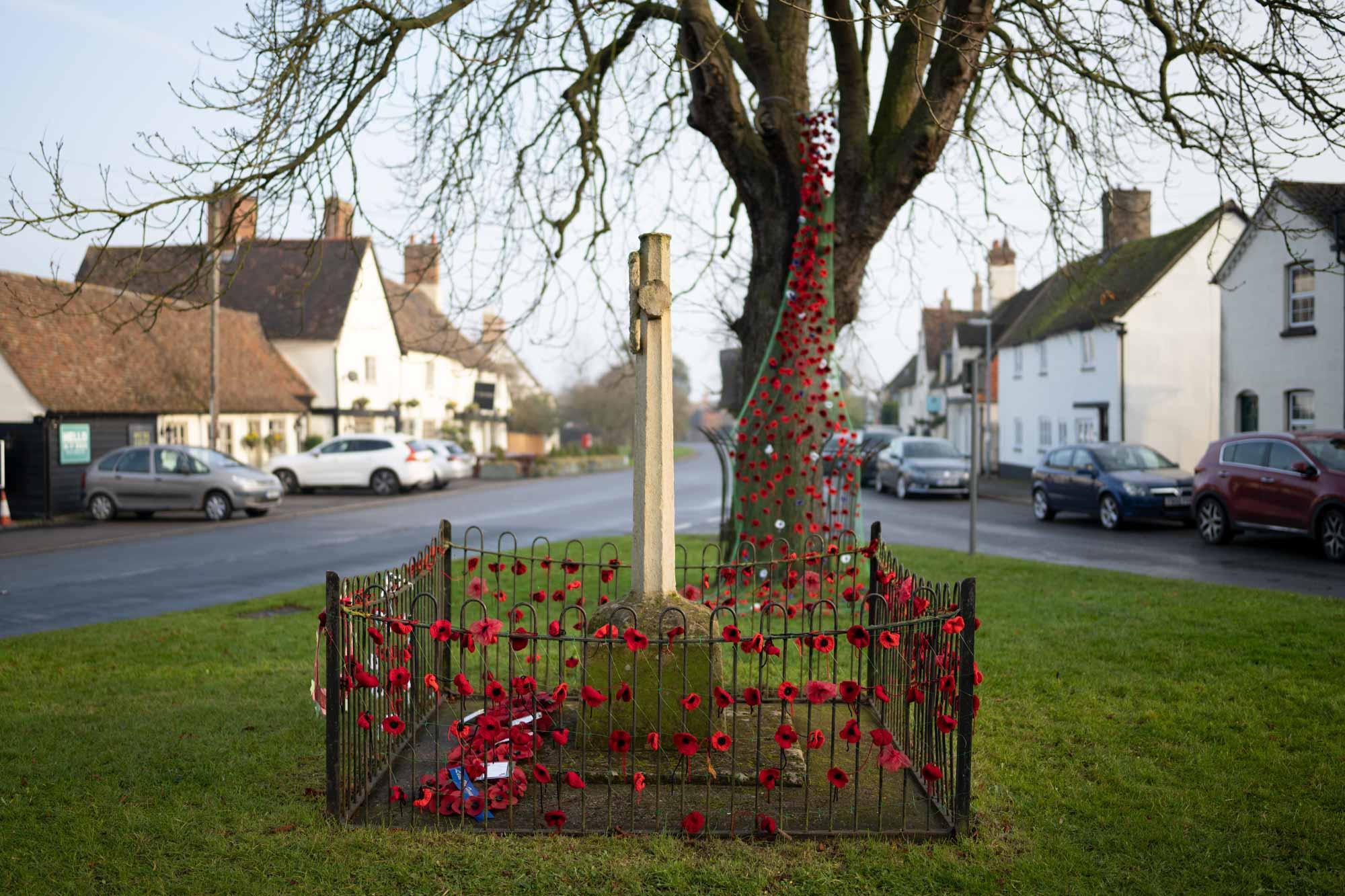 Spaldwick war memorial