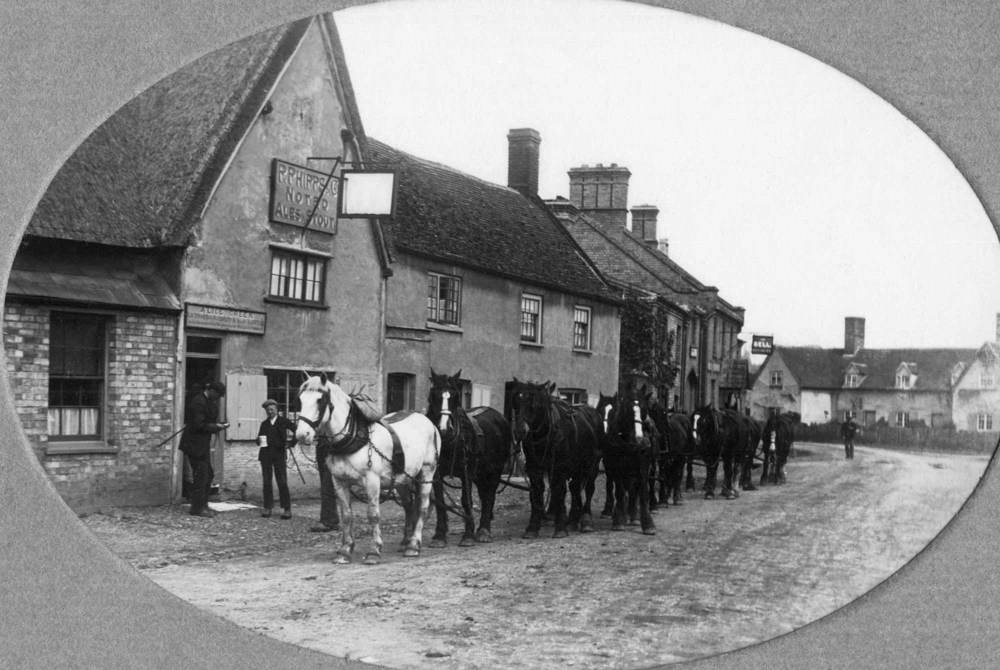 Spaldwick history