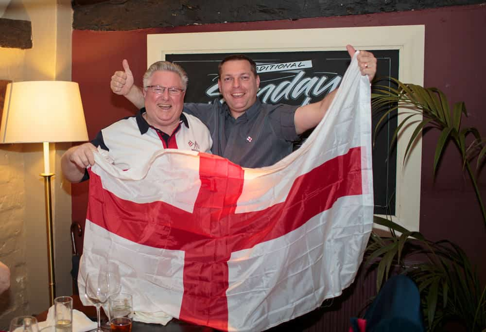 Celebrations at St Georges Day