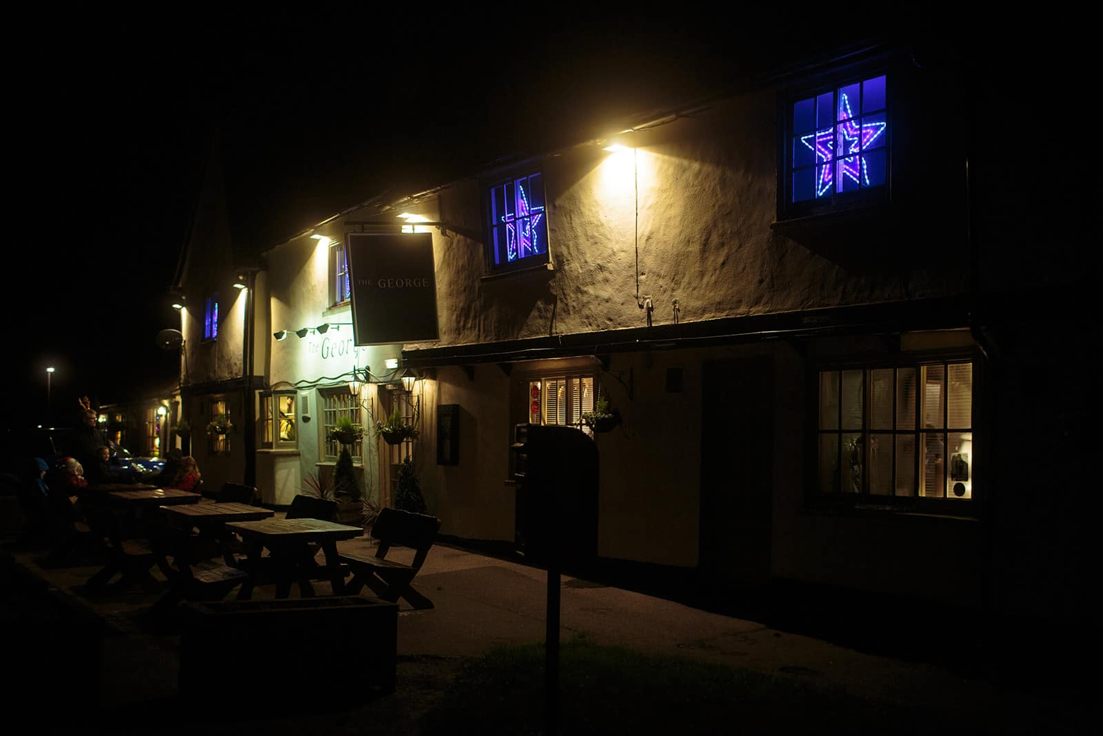 The George in Spaldwick