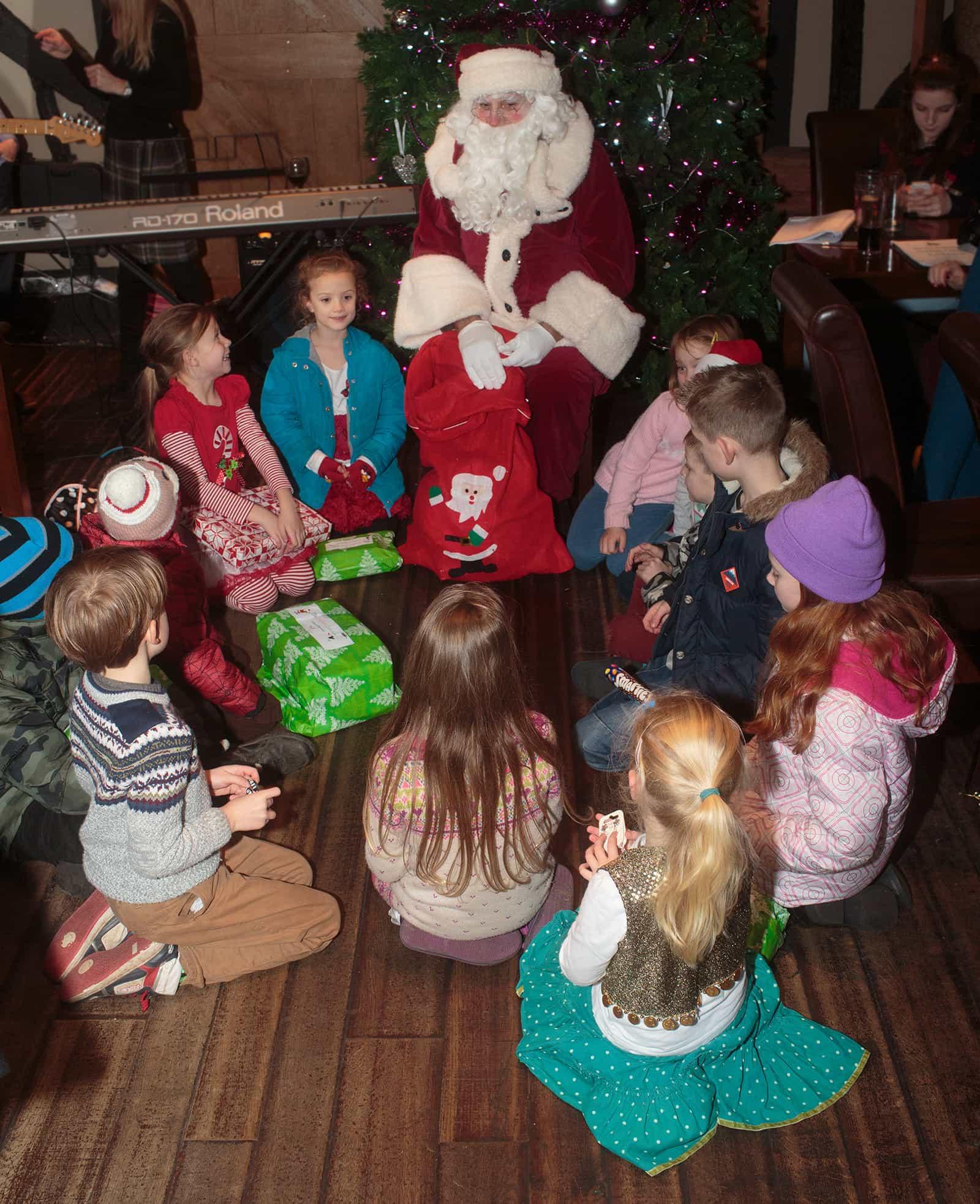 Santa at The George