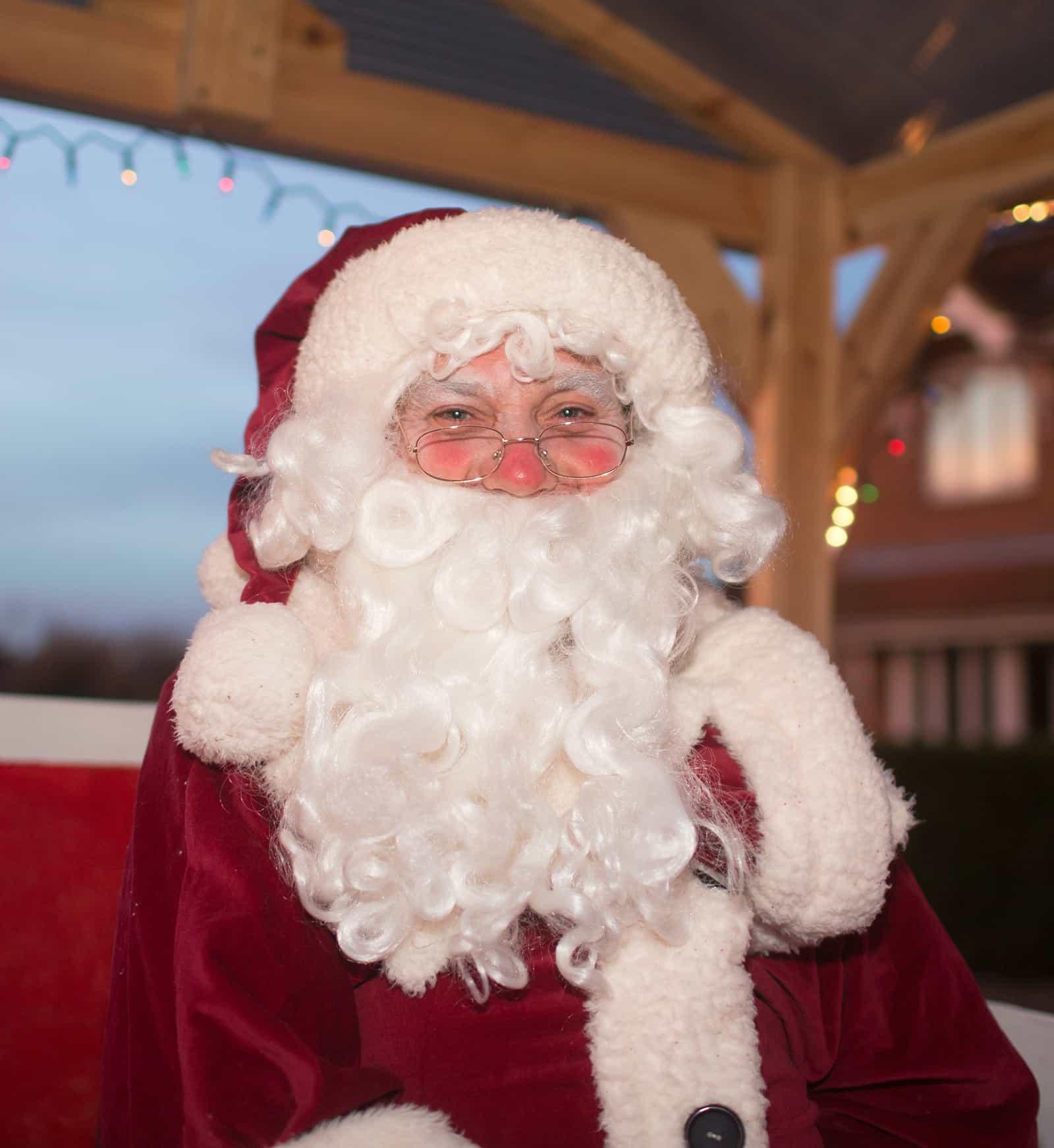 Santa in Spaldwick
