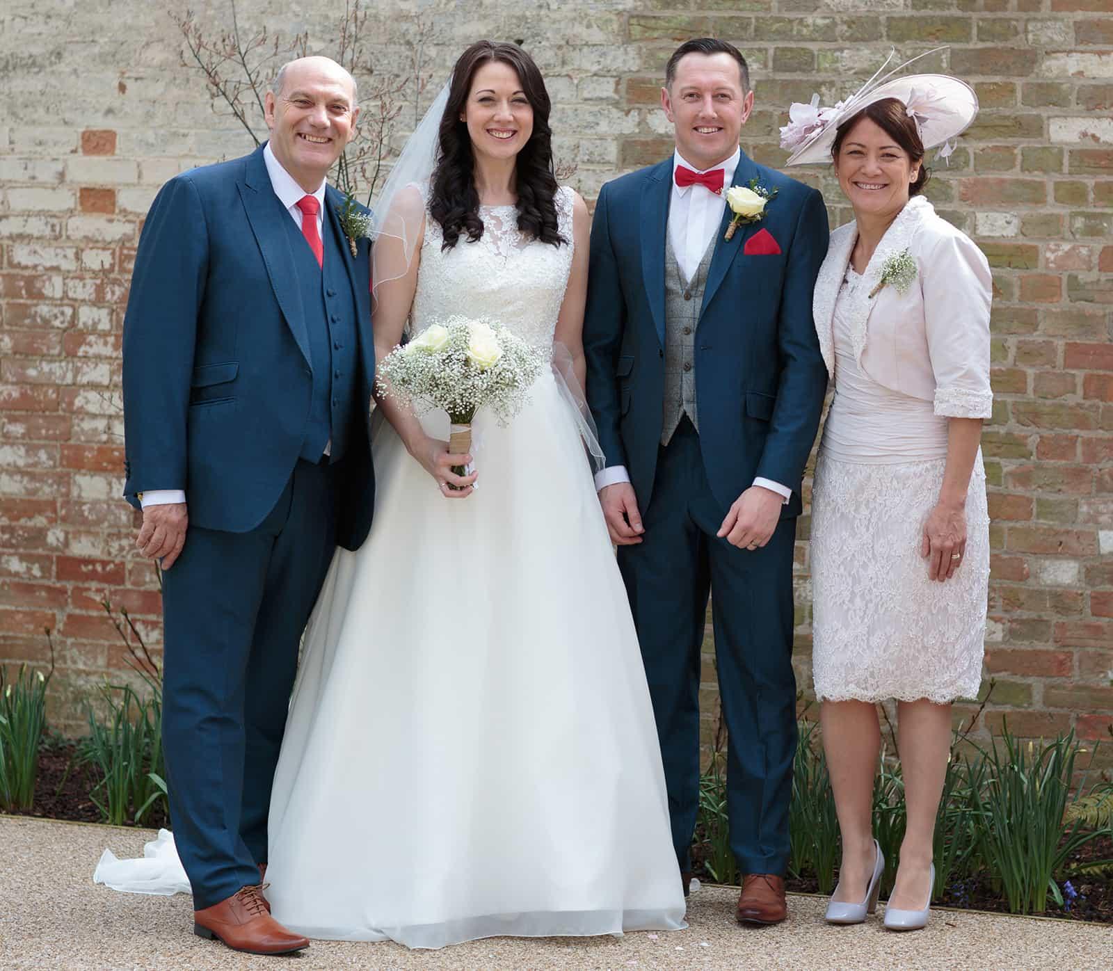 Spaldwick-wedding